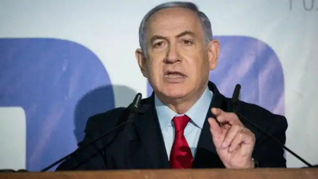 Israeli Prime Minister Benjamin Netanyahu claimed victory in the election