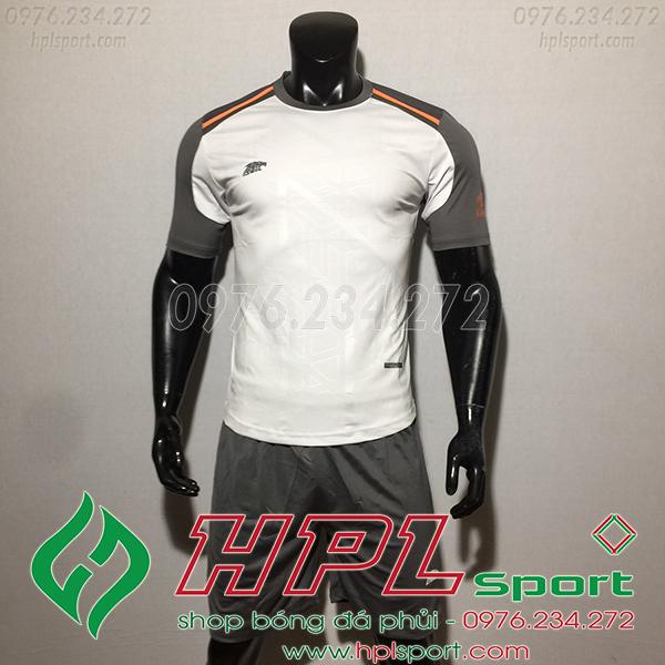 Áo ko logo Eureka Raki màu trắng
