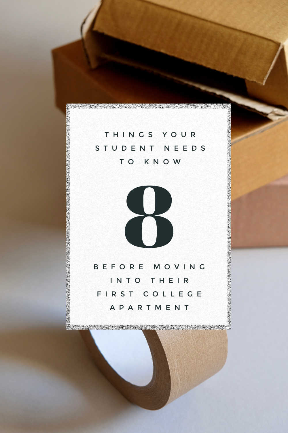 8 THINGS TO KNOW BEFORE MOVING TO AN APARTMENT