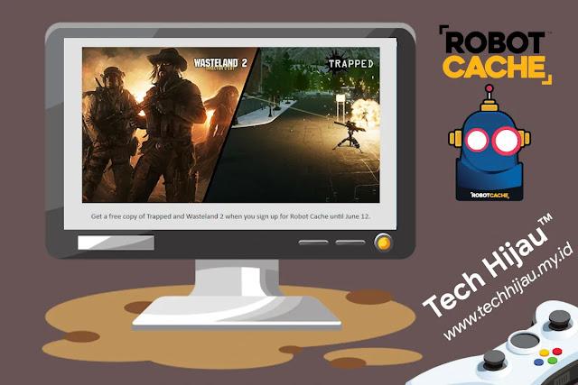 2 Game Gratis untuk Pendaftarkan Akun Baru Robot Cache!