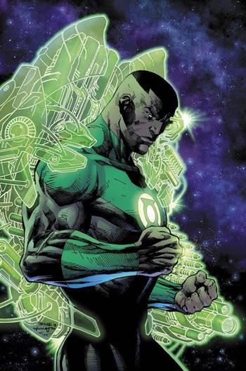 John Stewart Lantern pertenece a la Justice League