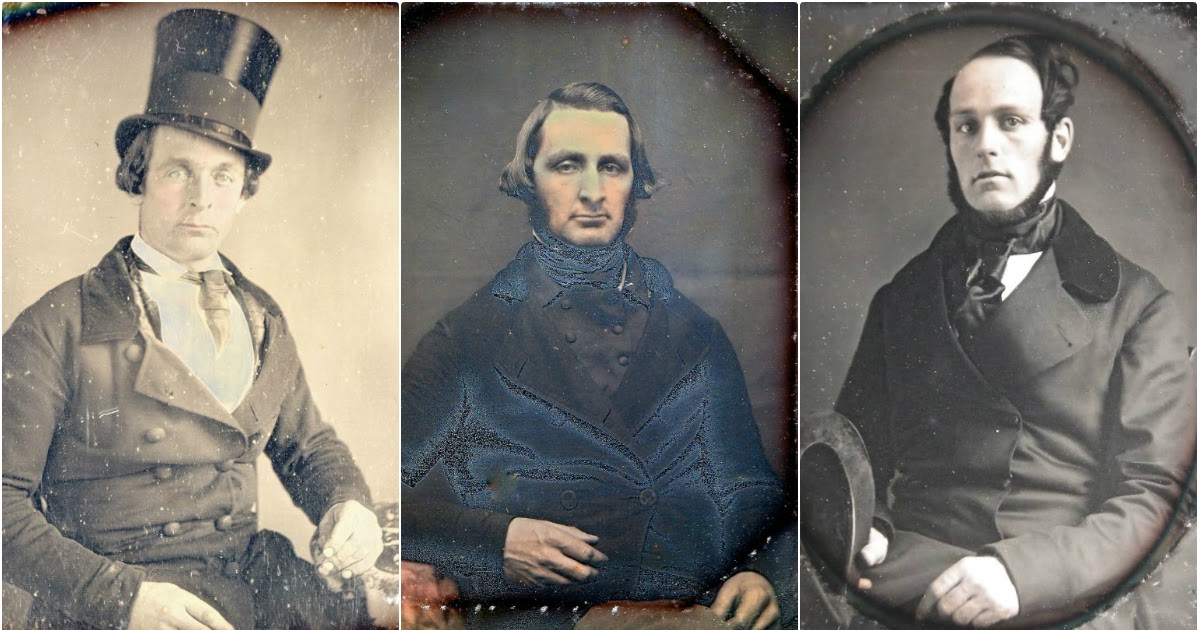 34 Cool Pics Show Fashion Styles of Victorian Men in the 1840s and 1850s