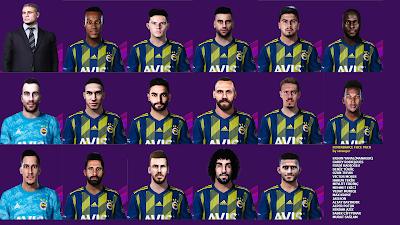 PES 2020 Facepack Fenerbahçe S.K. by Stranger
