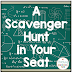 A Scavenger Hunt in Your Seat (and a FREEBIE!)