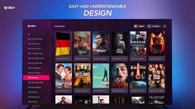 QUZU TV INSTALLATION SUR UNE SMART TV ( SAMSUNG et LG )