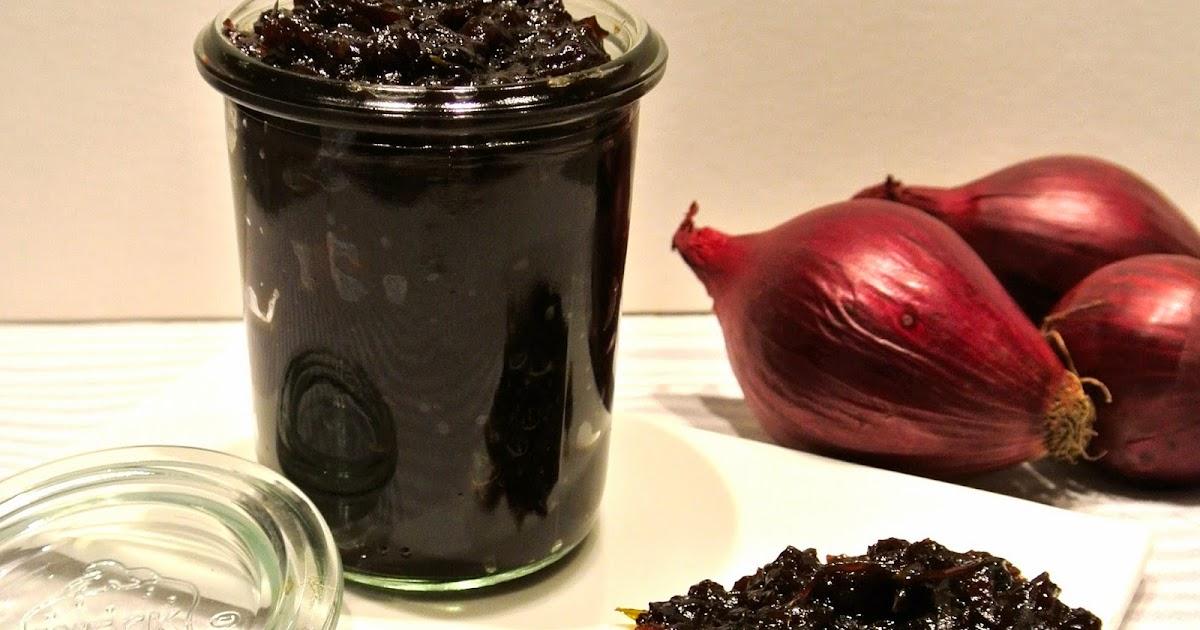 bonjour alsace cranberry zwiebel confiture mit orangen und thymian. Black Bedroom Furniture Sets. Home Design Ideas