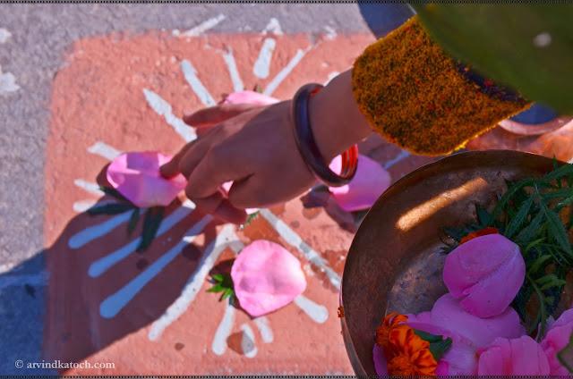 Woman, Pooja, India, Hand,