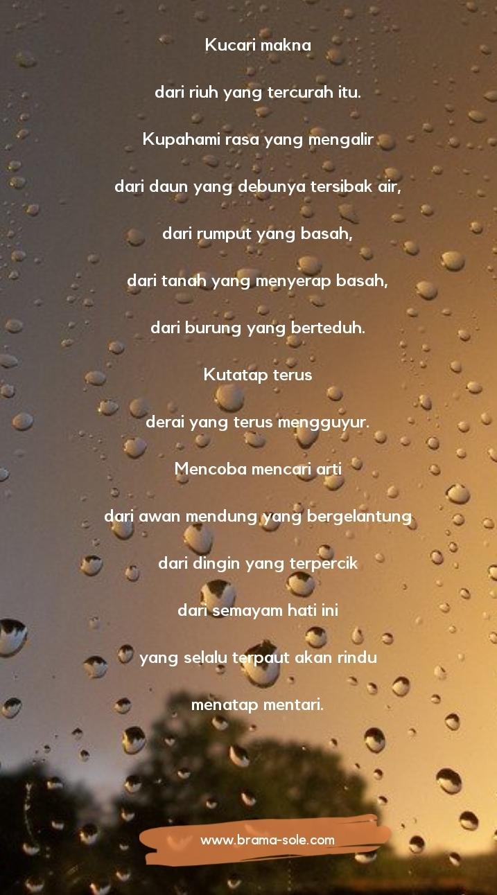 Puisi Hujan Oleh Nia Nurdiansyah