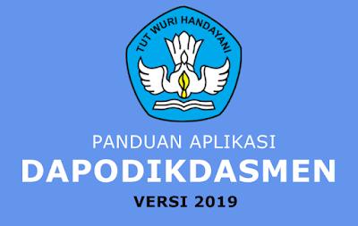 panduan aplikasi dapodikdasmen v 2019