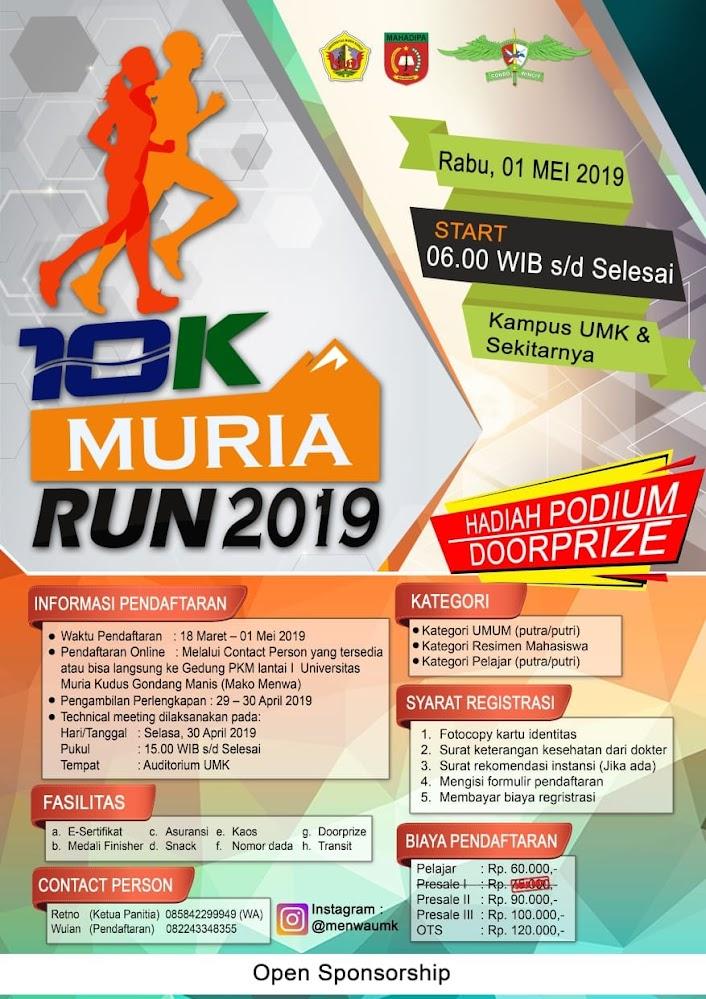 10K Muria Run • 2019
