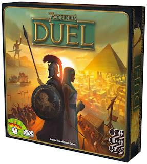 7 wonders duel el juego de tablero