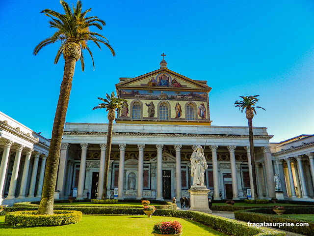 Basílica Papal de São Paulo Extramuros, Roma