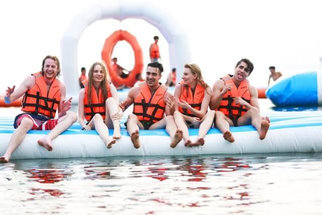 inflatable island philippines