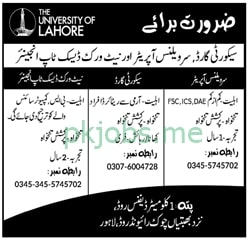 Latest The University of Lahore Management Posts 2021 Ad2