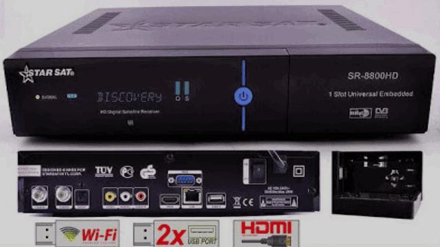 La dernière mise à jour de starsat 8800 hd hyper nouvelle et constamment