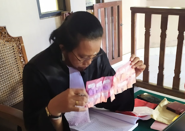 Ambil Paket Berisi 100 Butir Ekstasi, Saepudin Dituntut 15 Tahun