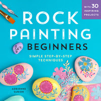Rock Painting For Beginners cover