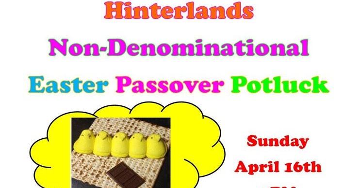 calendar relationship between passover and easter