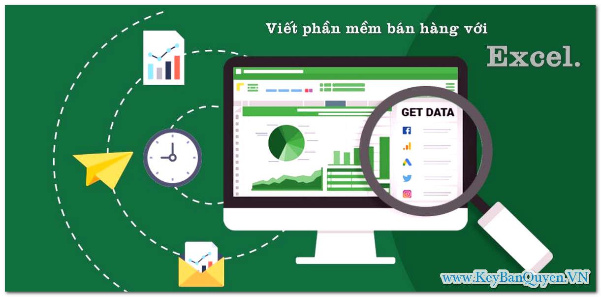 Video Hướng dẫn Viết Phần Mềm Bán Hàng Bằng File Excel .