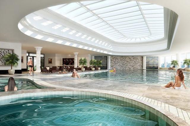 Bể bơi bốn mùa trong nhà