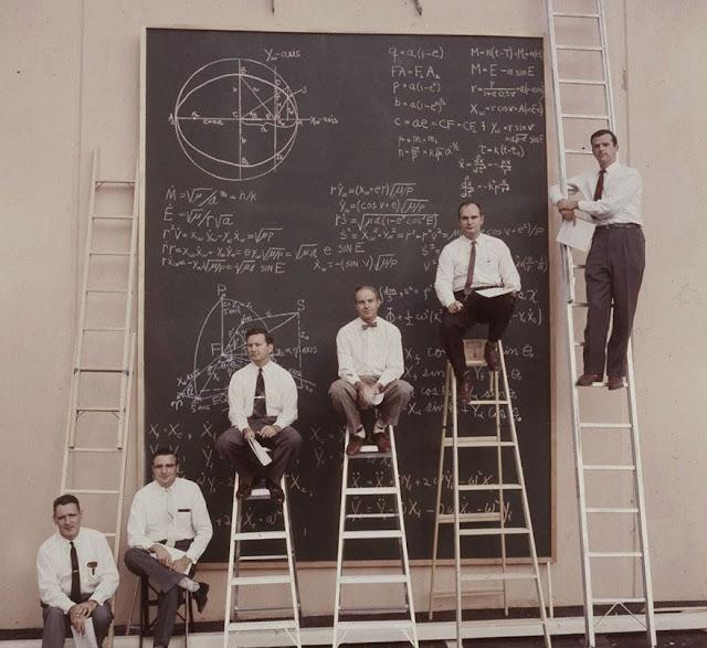 Apresentações da NASA antes do PowerPoint