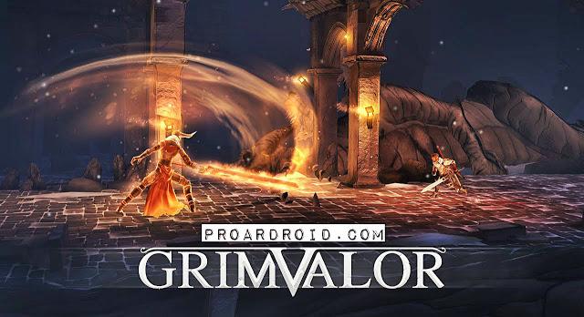 تحميل لعبة Grimvalor Full للاندرويد