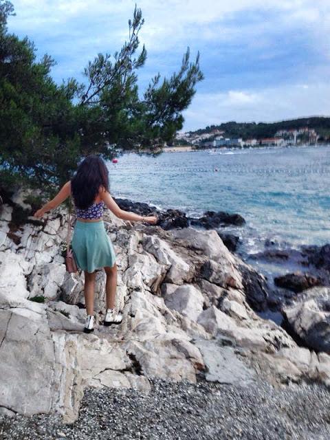 Croatia holiday review- hvar beach