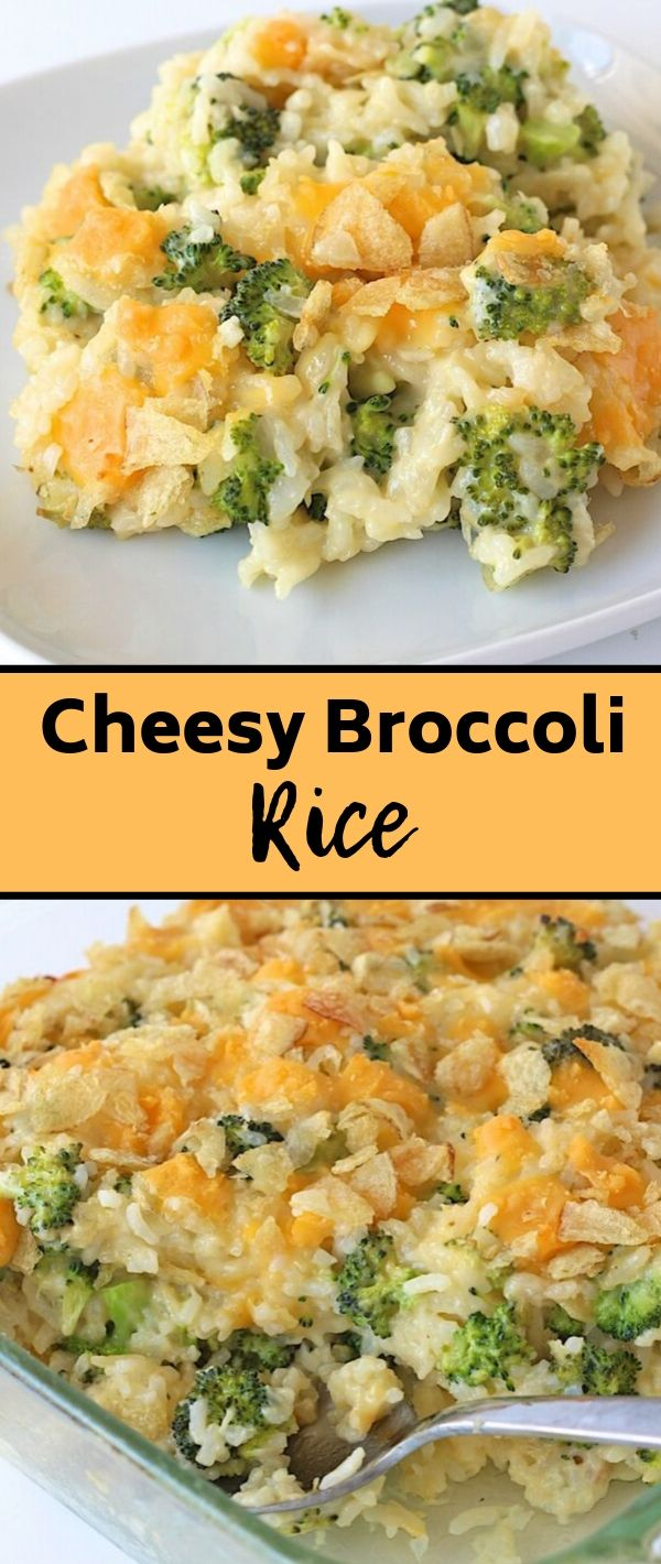 Cheesy Broccoli Rice #Cheesy #Broccoli #Rice Healthy Recipes Easy, Healthy Recipes Dinner, Healthy Recipes Best, Healthy Recipes On A Budget,