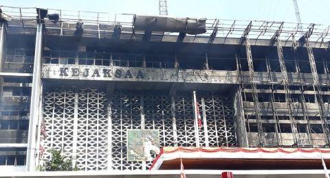 Ini Penyebab Kebakaran Gedung Kejagung Menurut Polisi