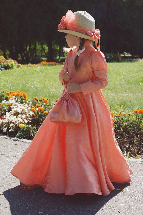 dziewczęca suknia balowa