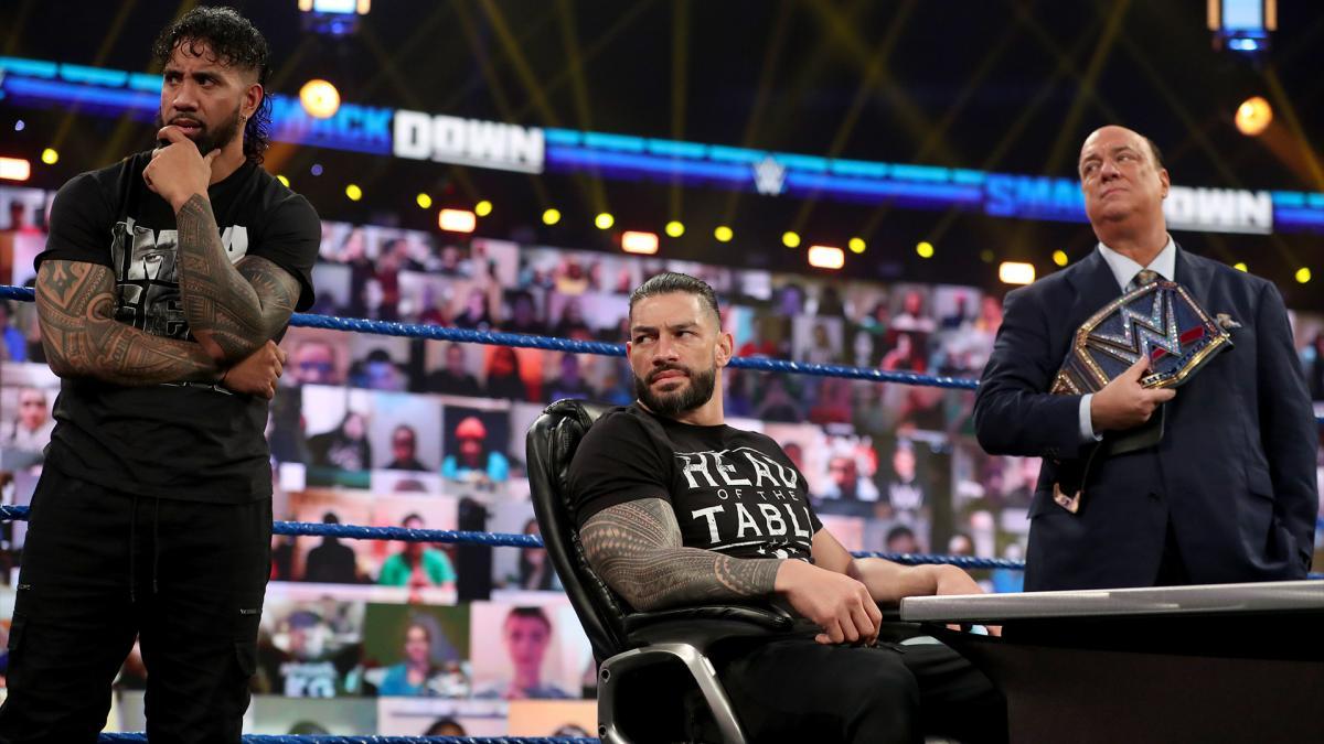 Roman Reigns, Jey Uso, Paul Heyman on WWE SmackDown