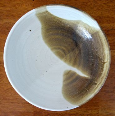 handthrown pottery bowl
