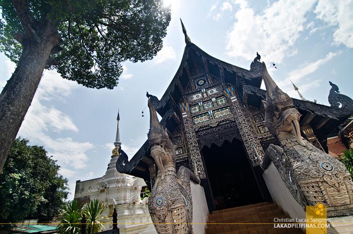 Lak Mueang at Wat Chedi Luang Chiang Mai