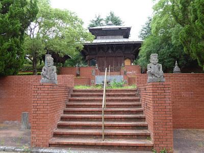 花博記念公園鶴見緑地 ネパールの庭園