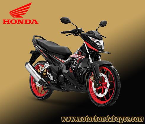Brosur Kredit Motor Honda Sonic Bogor