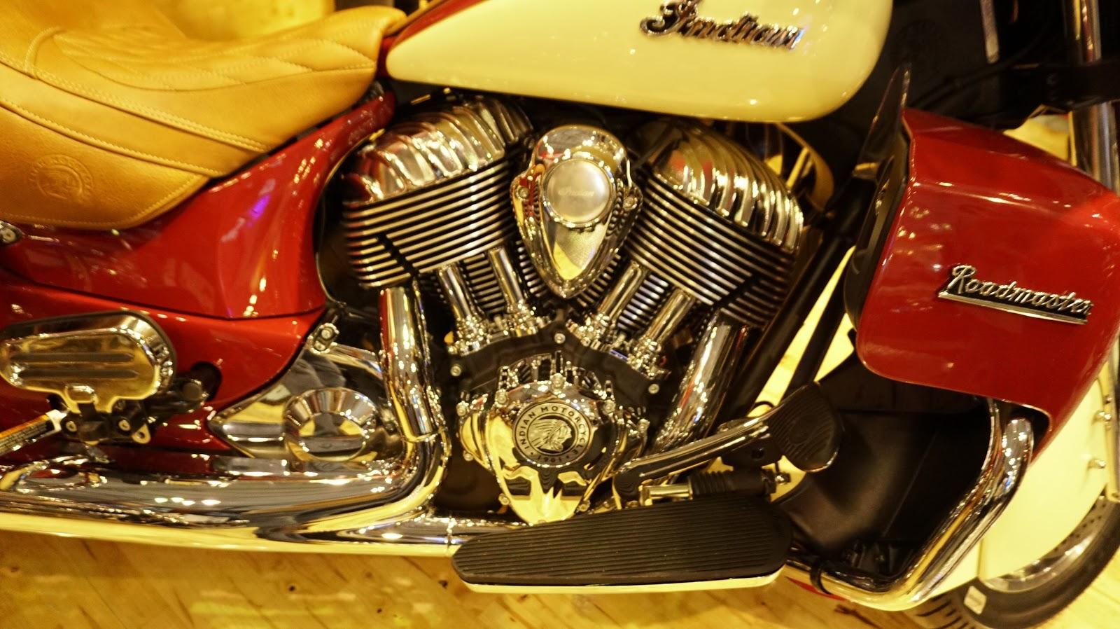 Trái tim của Indian Roadmaster là khối động cơ 1811 phân khối, cực mạnh