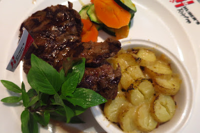 Huber's Bistro, australian wagyu spider steak