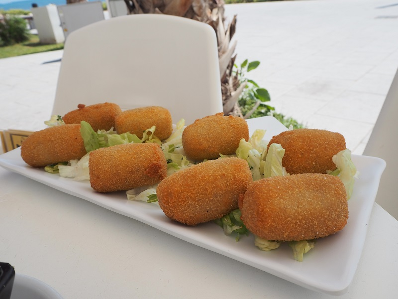 Croquettas at Coffee and Tapas Torrevieja