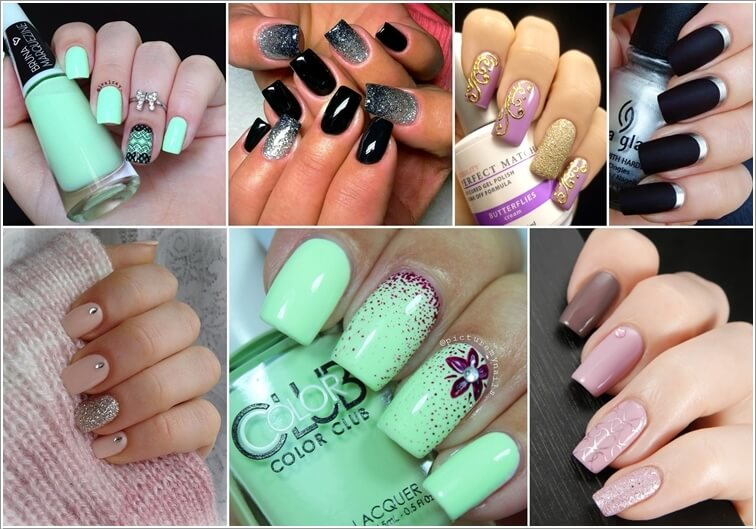 How To Do Two Tone Nails Guide With Pictures Tutorial Showroom