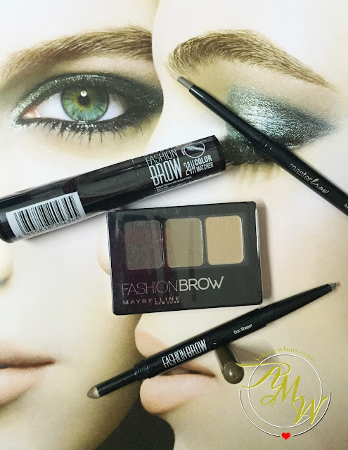 A photo of #BrowsOnFleek Maybelline brow products