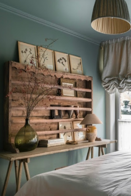 Beautiful Belgian style bedroom - found on Hello Lovely Studio