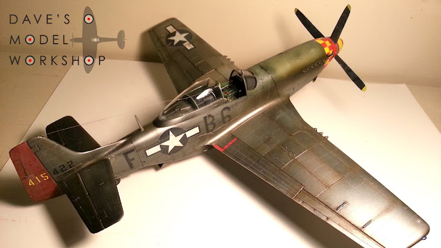 Hasegawa 1/32 scale P-51D Mustang scale model