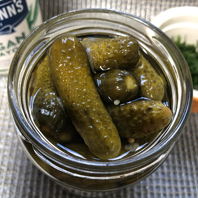 pickles with alcohol