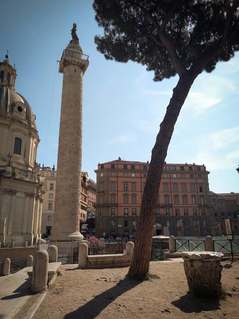 Trajan's Column; Rome, Italy