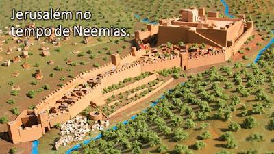 pregação portas de Jerusalém estudo bíblico Neemias