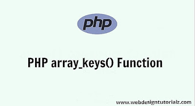 PHP array_keys() Function