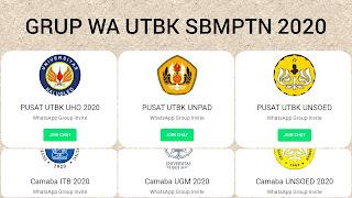 Grup whatsapp camaba 2020 utbk sbmptn