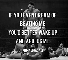 Muhammad Ali's 20 wisdom  Quotes for living  a fulfilled life