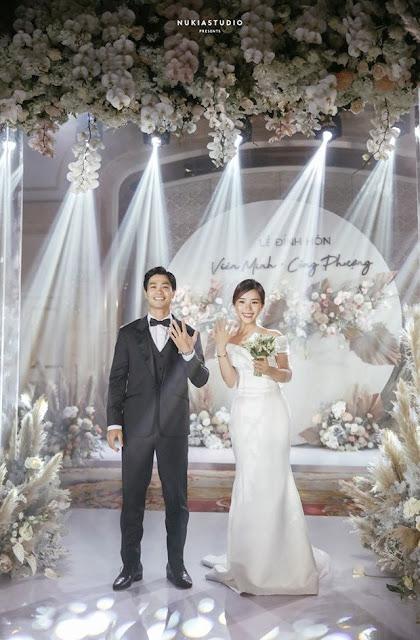 Công Phượng lần đầu lên tiếng sau lễ đính hôn bí mật với Viên Minh - hình ảnh buổi lễ