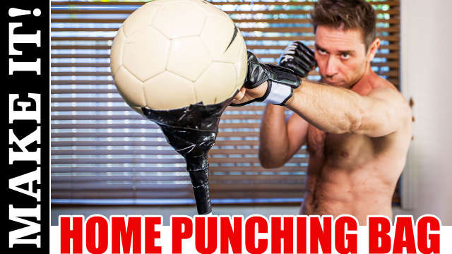 DIY Reflex Punching Bag